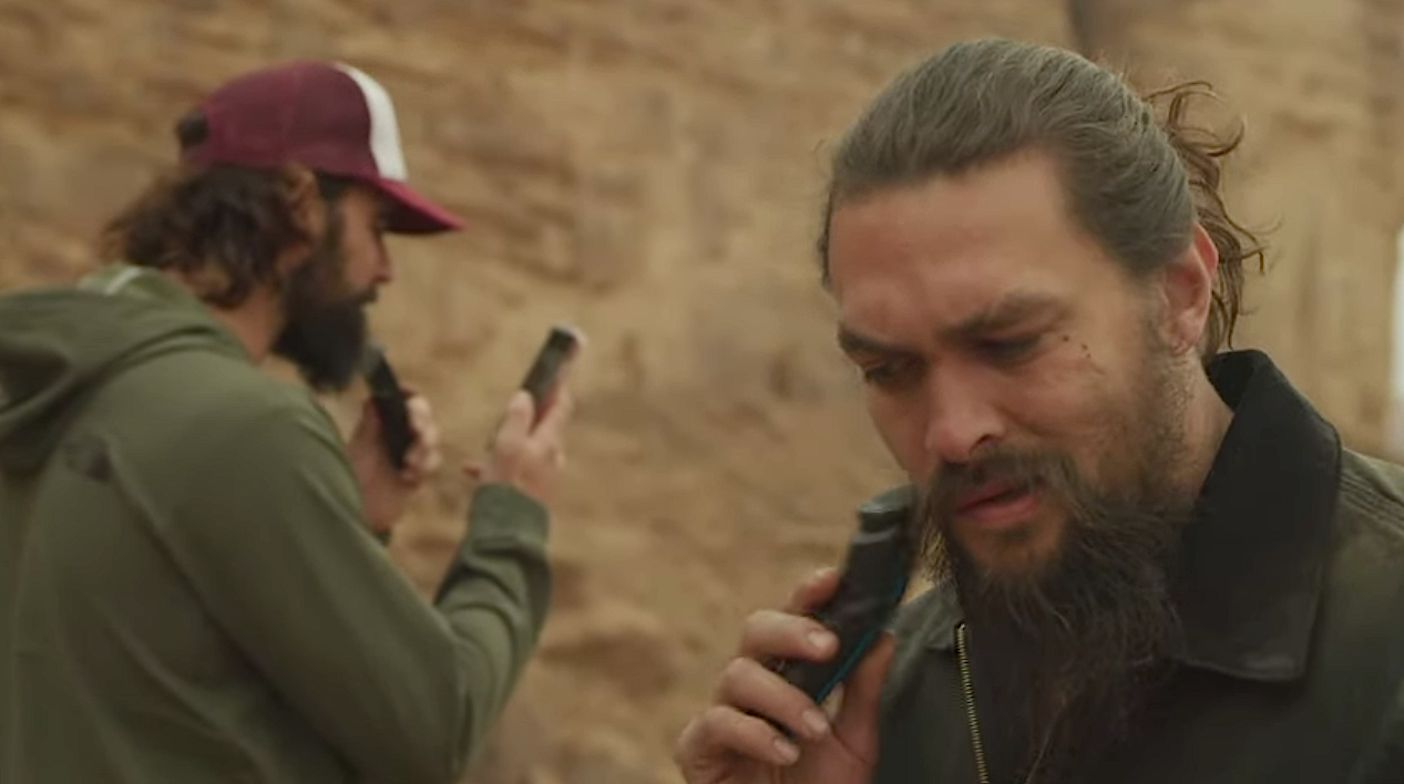 Jason Momoa Shaved Off His Beard to Raise Awareness About Plastic Waste