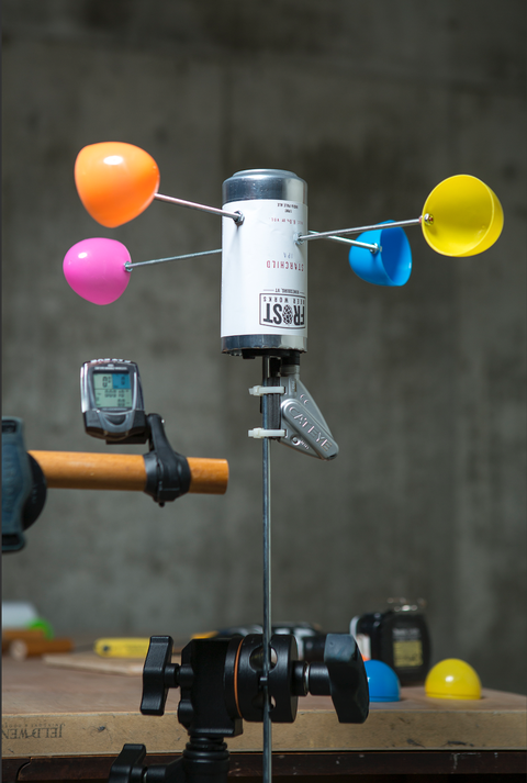 DIY Anemometer - How To Build a Wind Tester