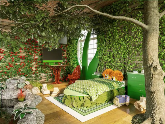 This Company Let Kids Draw Their Dream Rooms—And Then Brought Them to Life