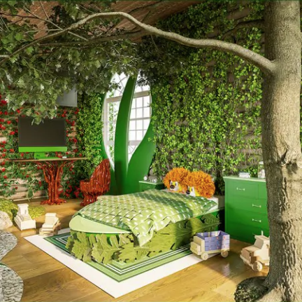 Kids dream bedrooms come to life