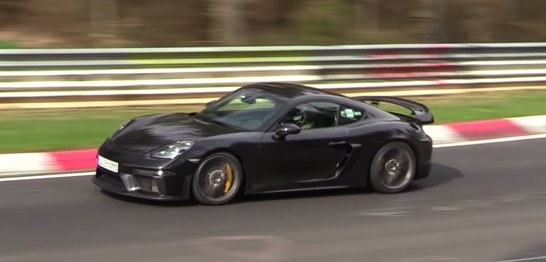Here's Our Best Look Yet at the Porsche 718 Cayman GT4