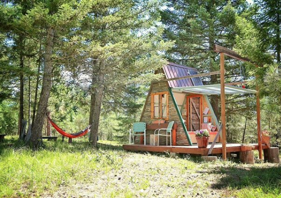 You Can Build This Tiny A-Frame Cabin Yourself For Just $700