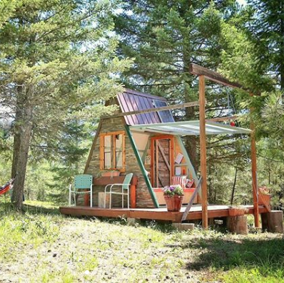 Marvelous Cheap Tiny House This Tiny A Frame Cabin Cost Just 700 Download Free Architecture Designs Scobabritishbridgeorg