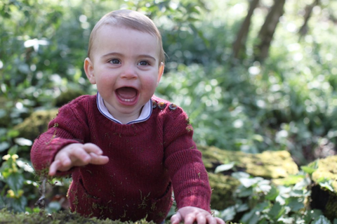 Prince Louis first birthday pictures
