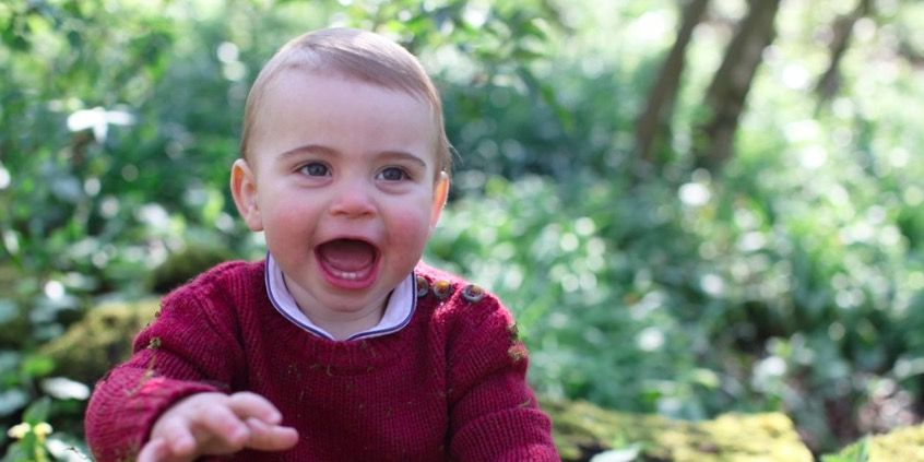 Kate Middleton Shares Three New Photos of Prince Louis Ahead of His First Birthday