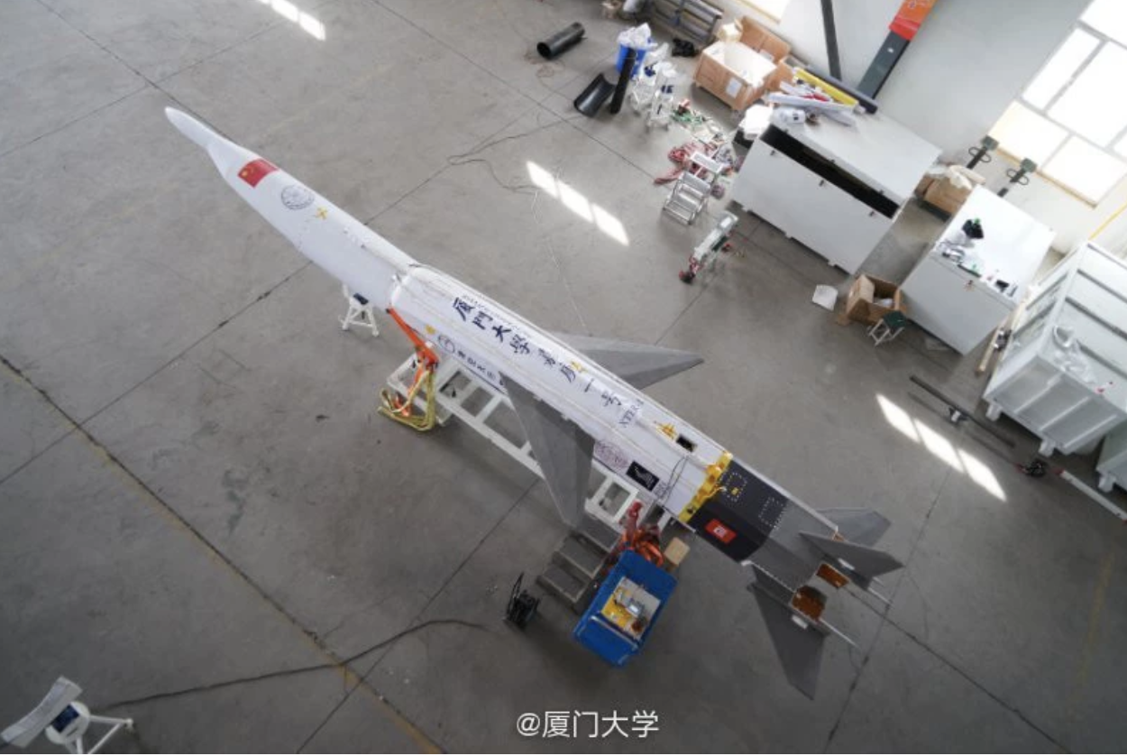 Chinese Hypersonic Vehicle Could Be Model for a Future Weapon System