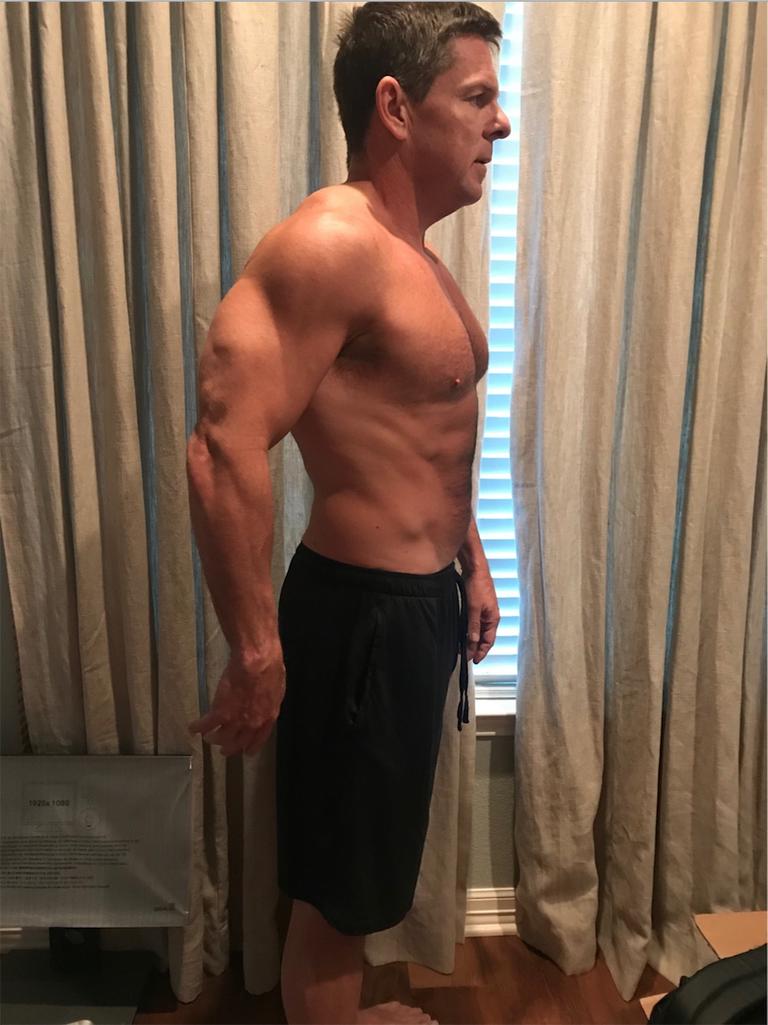 ダイエット,成功,努力,癌,感動,ビフォー アフター 筋肉 dad bod