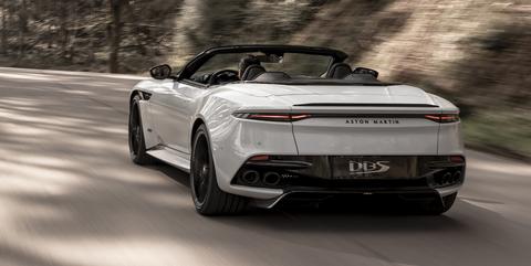 2020 Aston Martin Dbs Superleggera Volante Is A 211 Mph Drop Top