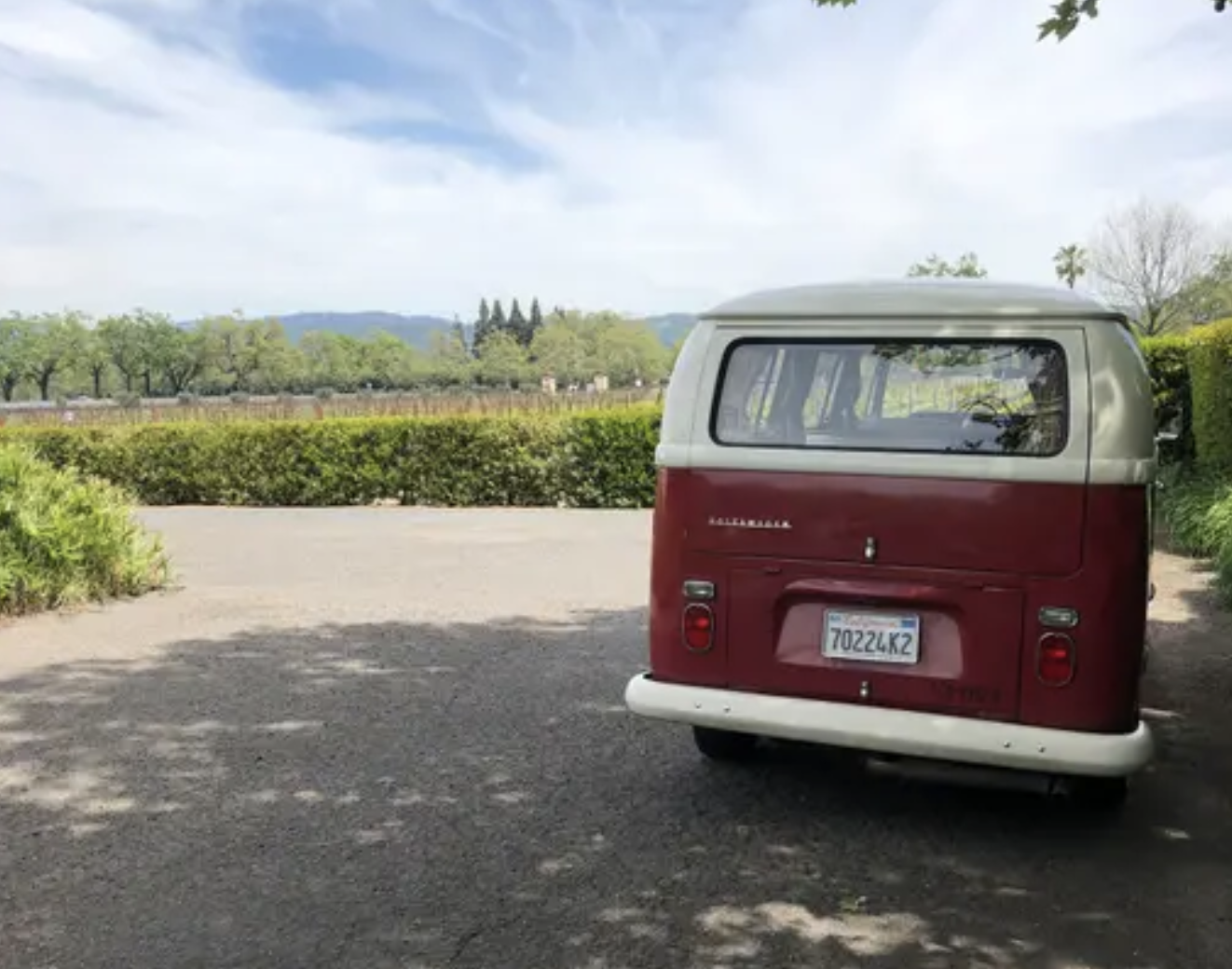 You Can Now Rent A Vintage VW Van To Tour Napa's Best Wineries