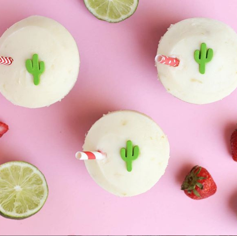 Disney Is Selling Strawberry Margarita Cupcakes From Sprinkles For Cinco De Mayo