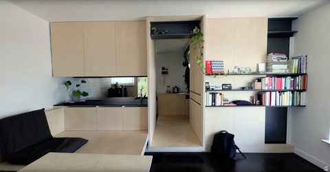 This 300-Square-Foot Apartment Makes a Small Space Seem Huge