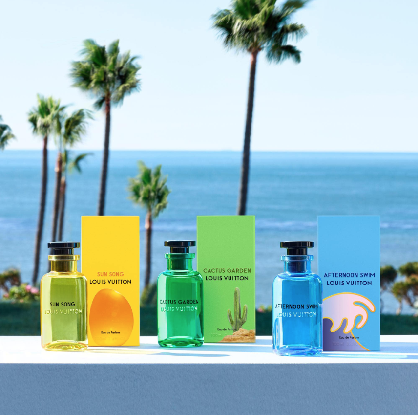 Louis Vuitton's First- Ever Unisex Fragrances Will Make You Smell Like Summer