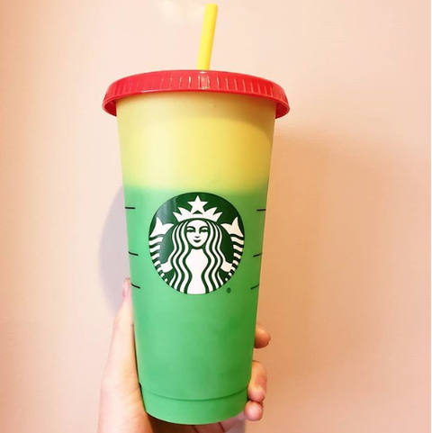 Starbucks Launched Color Changing Reusable Cups