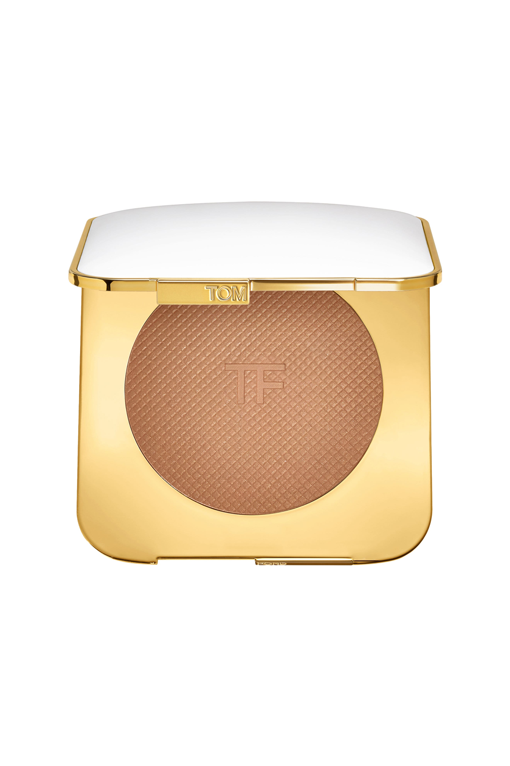 This Luxurious Bronzer Tom Ford Soleil Glow Bronzer, $112 SHOP IT Yes, you absolutely deserve a glow-up brought to you by the one and only Tom Ford. This bronzer, made of plant-derived butters, will melt right onto your skin leaving behind a buildable, subtle kiss of shimmer.