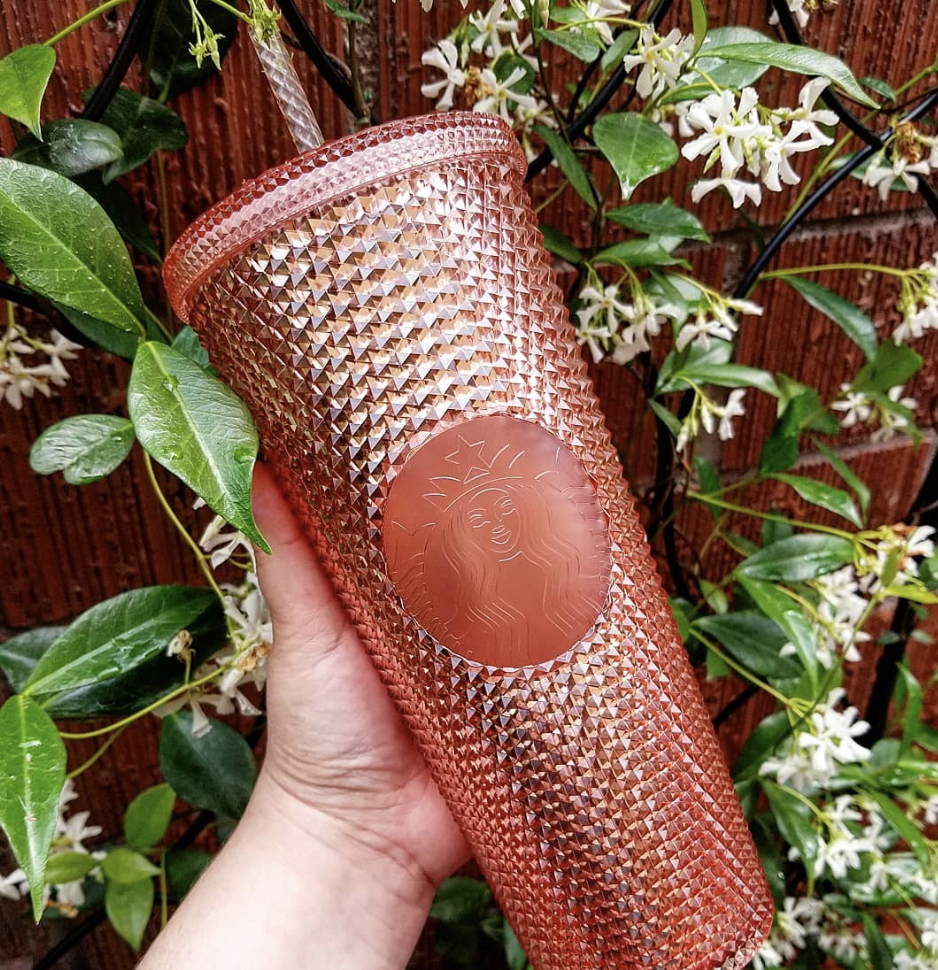 Starbucks Has A New Rose Gold Rhinestone Tumbler