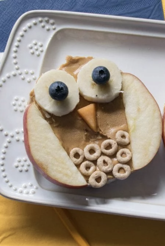 Owl Rice Cake Snacks