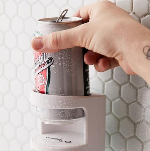 Urban Outfitters shower beer speaker holder