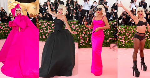 lady gaga met gala outfits 2019