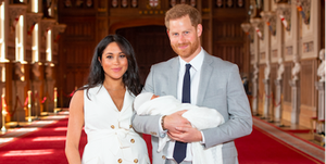Meghan Markle Royal Baby First Look Outfit