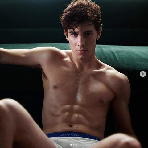 114acc5fb Shawn Mendes Reveals New Calvin Klein Ad