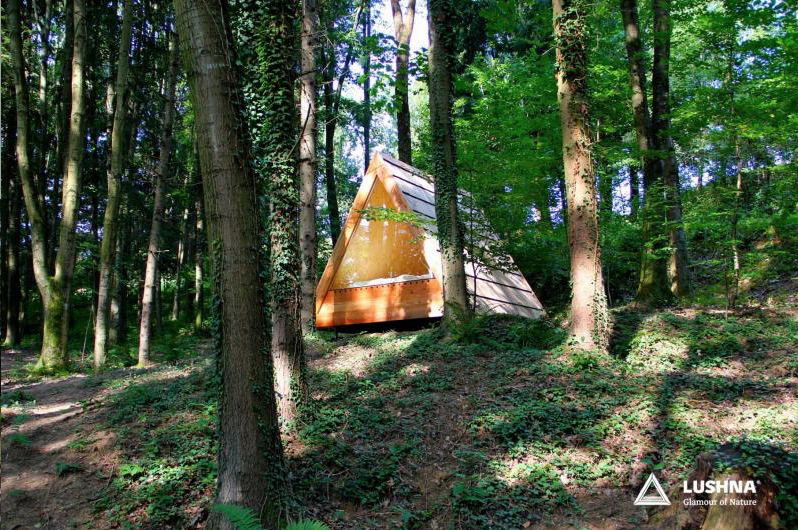 Make Your Own Luxurious A-Frame Cabin to Fulfill All of Your Glamping Dreams