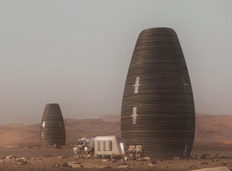 NASA Crowns Winner in Mars Habitat Competition