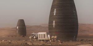 ai spacefactory building mars