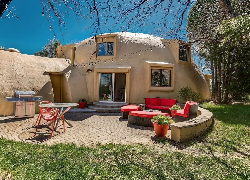 This Quirky Looking Denver Dome House Has an Insane Indoor Pool