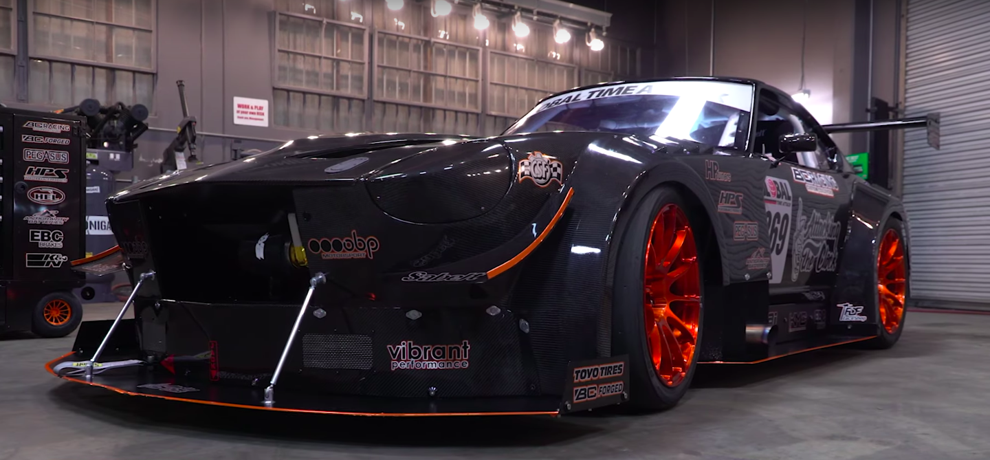 This Carbon-Bodied Time-Attack Car Started Out as an $1100 Datsun
