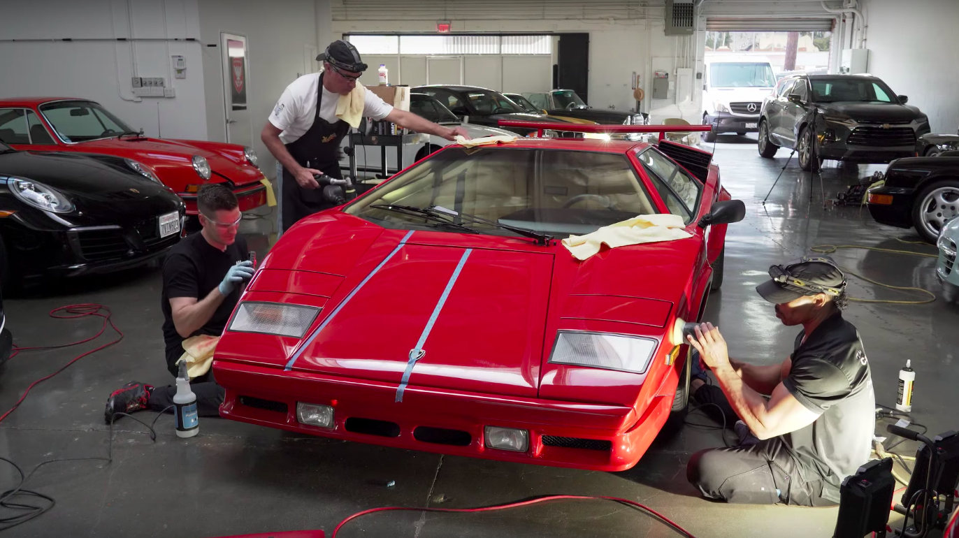 Detailing a Lamborghini Countach Is as Tricky as You Think