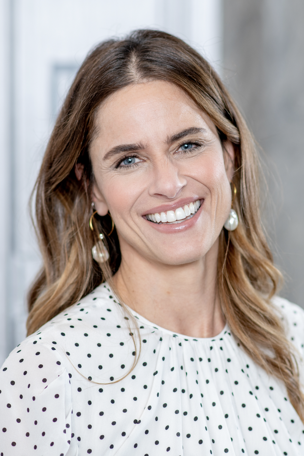 """Amanda Peet Amanda Peet credits being a mom as the reason she's avoided the treatment. """"I've never gotten Botox or fillers,"""" Peet said on SiriusXM's """"Conversations with Maria Menounos ."""" """"I've never done anything to my face that's 'invasive.' I think it has a lot to do with having two girls...I've certainly spent a lot of time and money doing other stuff, and I certainly am vain!"""""""