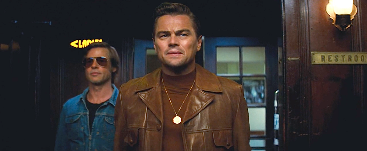 Leornardo Caprio and Brad Pitt in the trailer