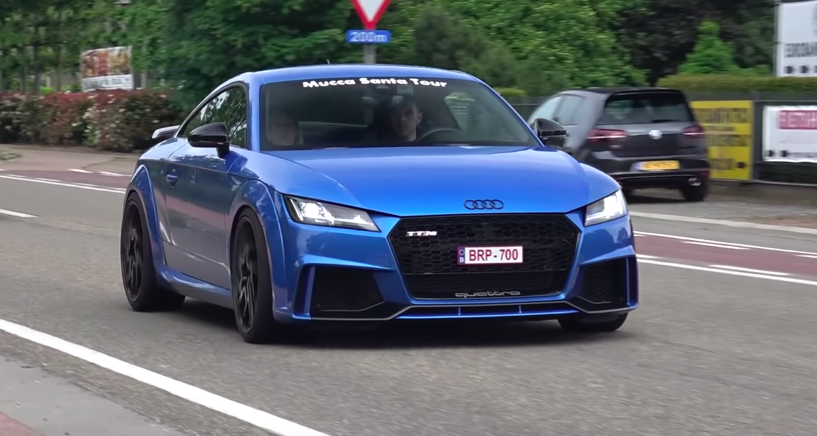 Here's What a 660-HP Audi TT Sounds Like