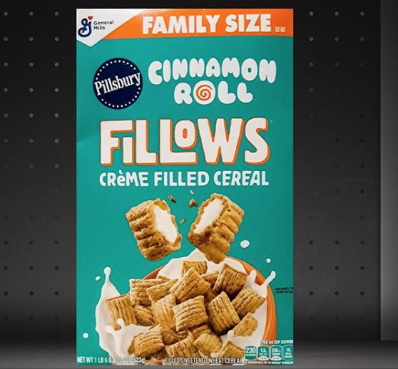 General Mills Launched Pillsbury Cinnamon Roll And Hershey's Cookies 'N Creme Cereals