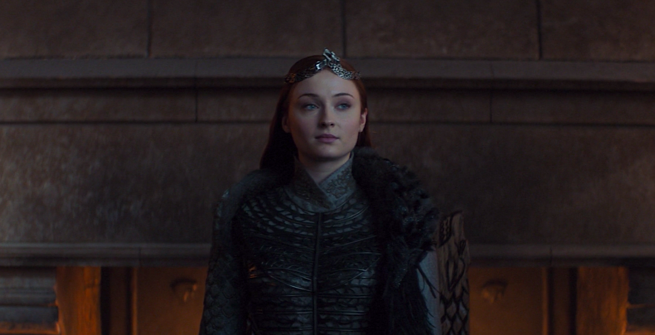 All the Hidden Easter Eggs in Sansa's Final Costume Have Me Shook