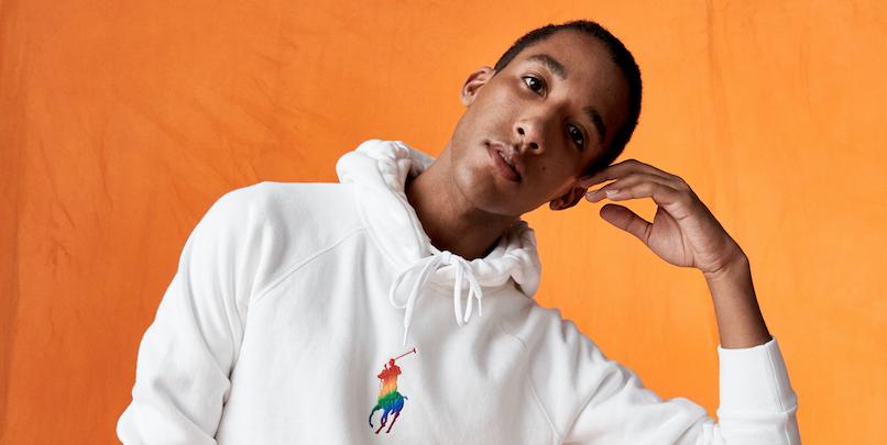 The new gender-neutral capsule from Ralph Lauren will benefit LGBTQIA+ organizations around the world.