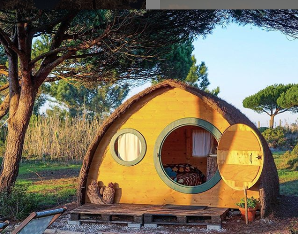 This Whimsical Hobbit Pod is the Ultimate Glamping Experience