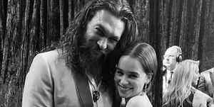 Jason Momoa's emotional message to Emilia Clarke about her final Game of Thrones scene