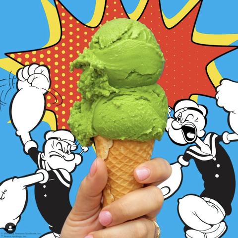 Ice cream cone, Cartoon, Sorbetes, Frozen dessert, Dondurma, Ice cream, Junk food, Dairy, Illustration, Food,