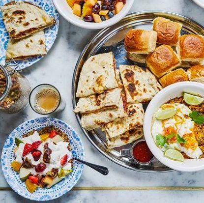 Dishoom breakfast - best london breakfast