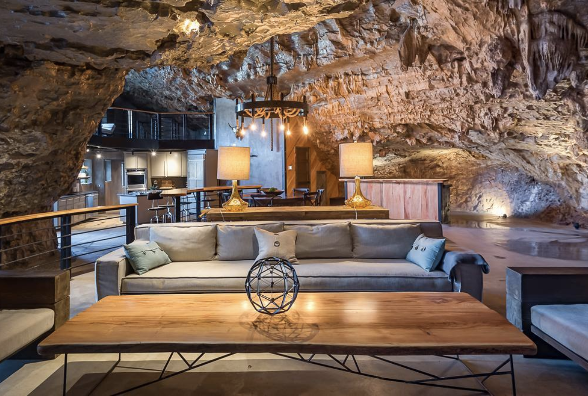 Someone is Renting Out a Luxurious Home That's Located Inside of a Cave