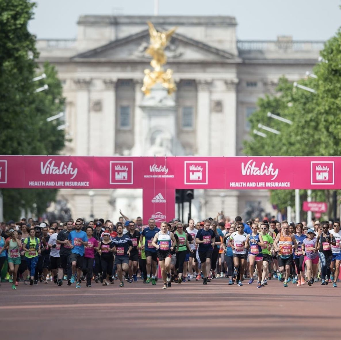 The runners and celebs doing the Vitality London 10,000 and Westminster Mile this weekend