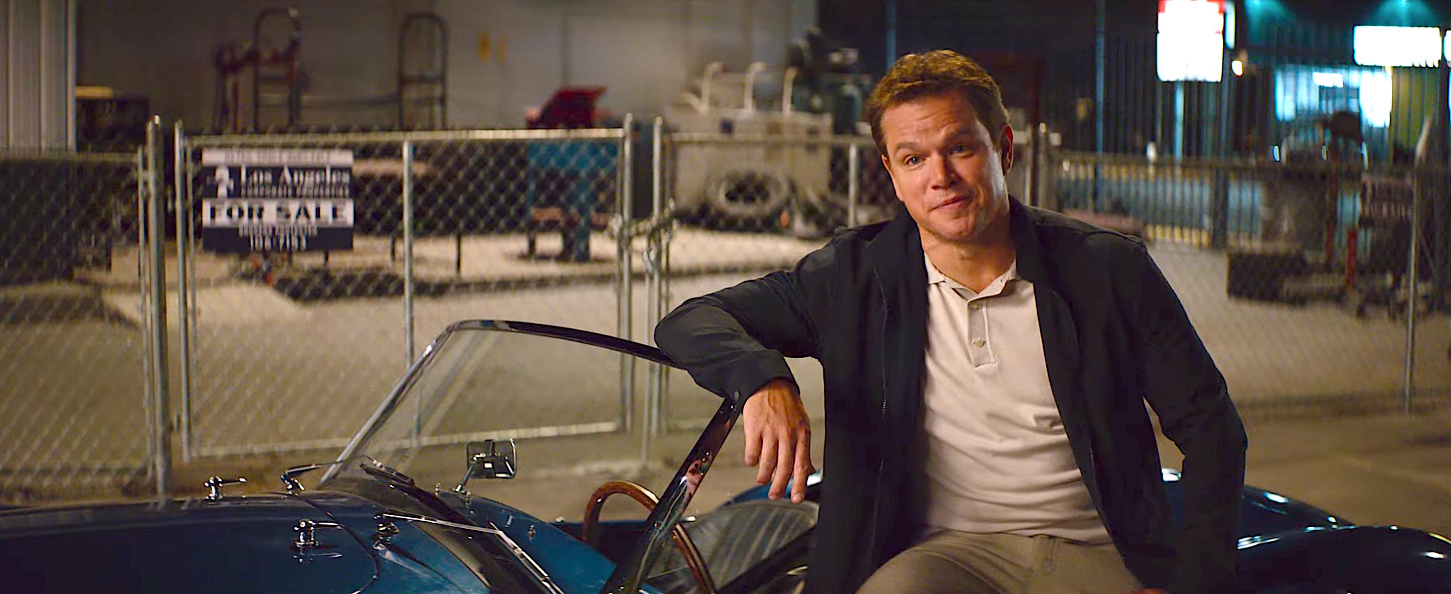 Matt Damon and Christian Bale's Ford v Ferrari Looks Like a High-Speed Oscar Contender