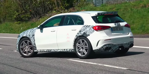 2020 Mercedes Amg A45 Hot Hatch Nurburgring Test Video