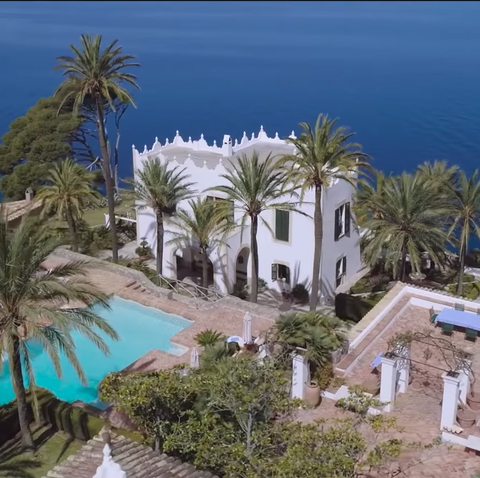 Michael Douglas Mallorca Spain home real estate video