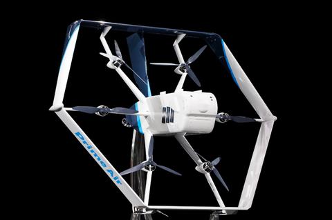 amazon hexagon drone
