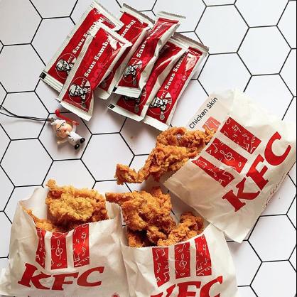 Kfc Is Selling Bags Of Fried Chicken Skin In Indonesia