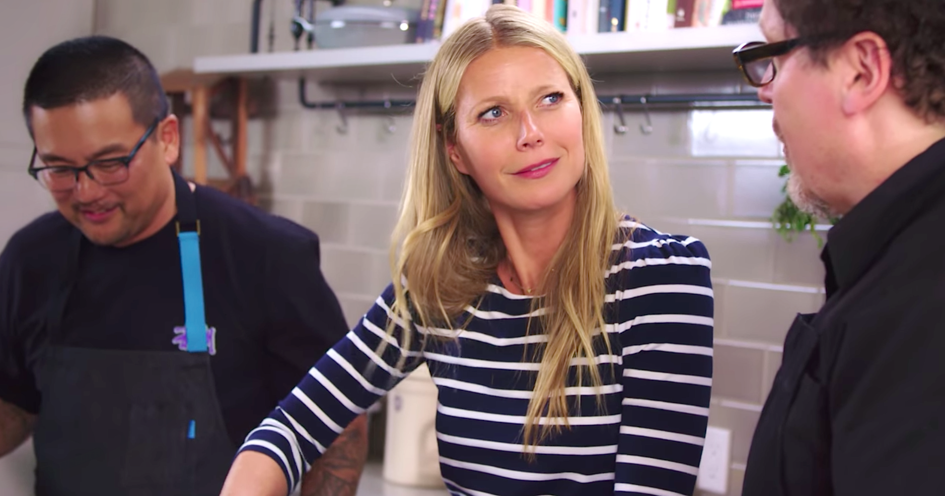 Watch Gwyneth Paltrow Discover She Starred in Spider-Man: Homecoming While Zesting an Orange