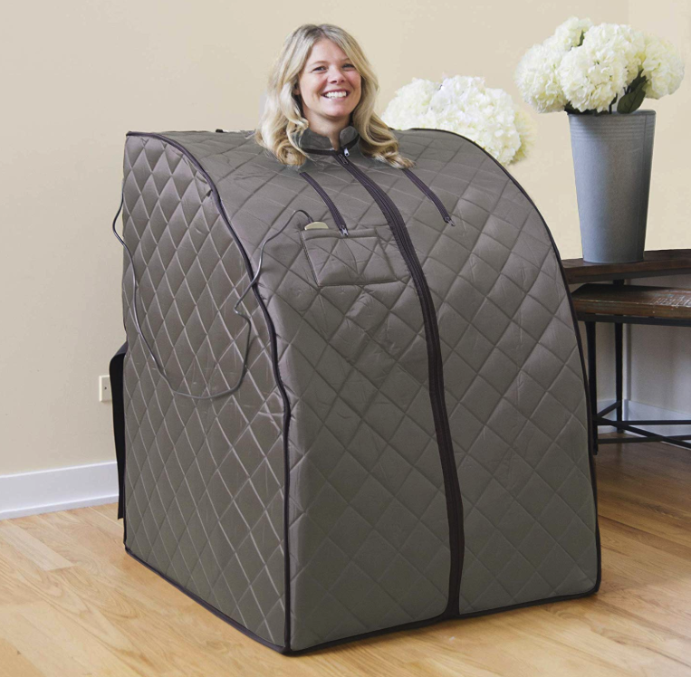This Amazon Sauna Can Literally Go Anywhere So I'm Sold