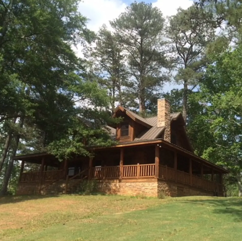 tony stark lake cabin airbnb